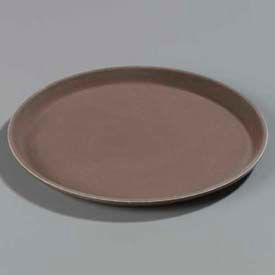 "Carlisle 1100GR076 - Griptite™ Round Tray 11"" x 3/4"", Toffee Tan - Pkg Qty 12"