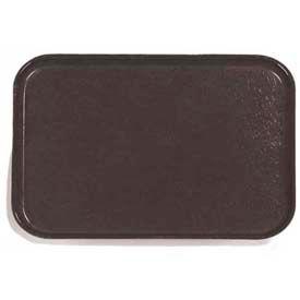 "Carlisle 1612FG004 - Glasteel™ Solid Rectangular Tray 16-3/8"", 12"", 3/4"", Black - Pkg Qty 12"