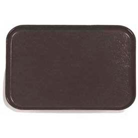 "Carlisle 1814FG004 - Glasteel™ Solid Rectangular Tray 18"", 14"", 3/4"", Black - Pkg Qty 12"