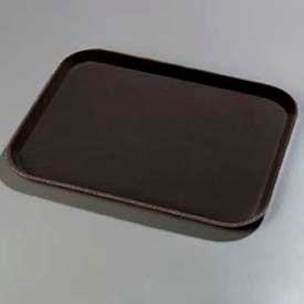 "Carlisle 1814GR004 - Griptite™ Rectangular Tray 18"", 14"", 27/32"", Black - Pkg Qty 12"