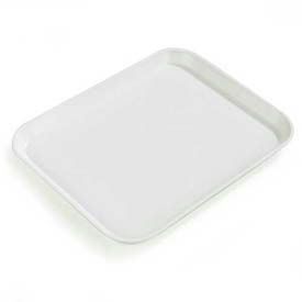"Carlisle 2015FG001 - Glasteel™ Solid Rectangular Tray 20-1/4"", 15"", 3/4"", Bone White - Pkg Qty 12"
