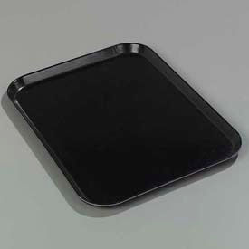 "Carlisle 2015FG004 - Glasteel™ Solid Rectangular Tray 20-1/4"", 15"", 3/4"", Black - Pkg Qty 12"