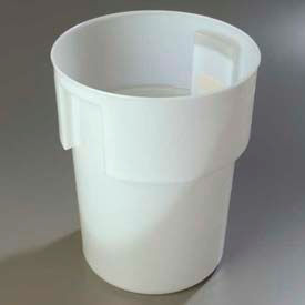 "Carlisle 220002 - Container 12-1/4"" Deep x 15-7/16"" High, White - Pkg Qty 6"