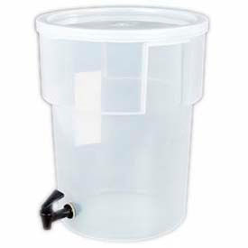 Carlisle 220930 Beverage Dispenser Only/No Base, 5-Gallon Capacity, Translucent Bowl And... by