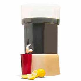 Carlisle 221004 Beverage Dispenser Only/No Base, 5-Gallon Capacity, Yellow by