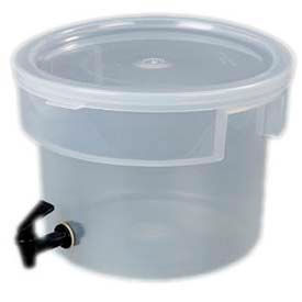 Carlisle 221930 Beverage Dispenser Only/No Base, 3-Gallons Capacity, Translucent Bowl And... by