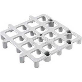 "Carlisle Floor Rack System, 12"" x 12"", Gray, 271023 - Pkg Qty 12"