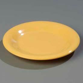 "Carlisle 3302022 Sierrus Bread & Butter Plate, Wide Rim 5-1/2"", Honey Yellow Package... by"