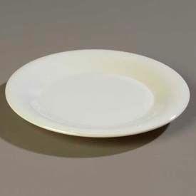 """Carlisle 3302442 Sierrus Dinner Plate, Wide Rim 12"""", Bone Package Count 12 by"""