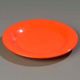 """Carlisle 3302452 Sierrus Dinner Plate, Wide Rim 12"""", Sunset Orange Package Count 12 by"""