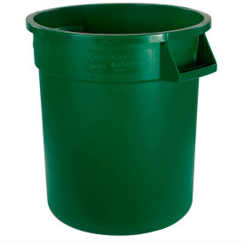 Bronco™ Waste Container 10 Gal - Green - Pkg Qty 6