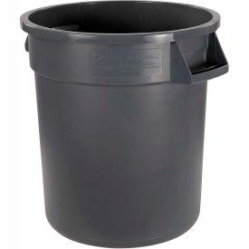 Bronco™ Waste Container 34101023,  10 Gallon - Gray