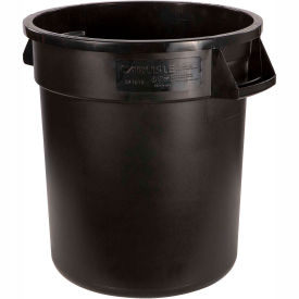 Bronco™ Round Waste Container 32 Gallon - Black 34103203 - Pkg Qty 4