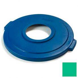 Bronco™ Recycle Lid 32 Gal - Green - Pkg Qty 4