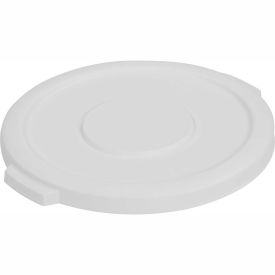 Bronco™ Waste Container Lid 55 Gal - White - Pkg Qty 2