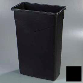 Trimline™ Waste Container 23 Gal - Black - Pkg Qty 4