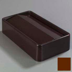 Trimline™ Swing Top Lid - Dark Brown - Pkg Qty 4