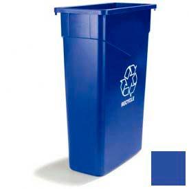 Trimline™ Paper Recycle Lid - Blue - Pkg Qty 8
