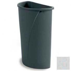 Centurian™ Half Round Container 21 Gallon - Grey - Pkg Qty 4