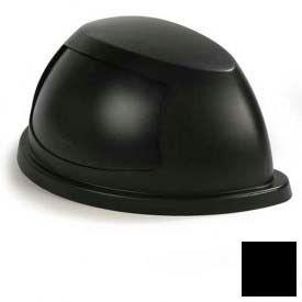 Centurian™ Half Round Lid - Black - Pkg Qty 4