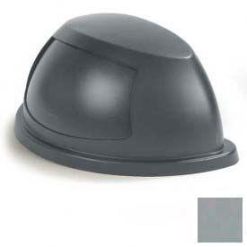 Centurian™ Half Round Lid - Dove Gray - Pkg Qty 4
