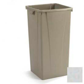 Centurian™ Tall Square Container 23 Gallon - Gray - Pkg Qty 4