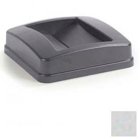 Centurian™ Swing Top Lid - Square Gray - Pkg Qty 4