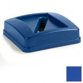 Centurian™ Paper Recycle Lid For 343523rec - Blue - Pkg Qty 4
