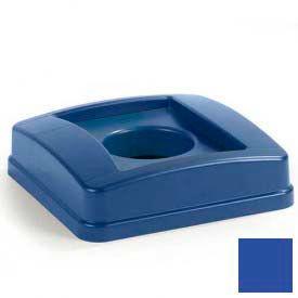 Centurian™ Recycle Bottle/Can Lid - Blue - Pkg Qty 4