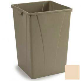 Centurian™ Waste Container 35 Gallon - Beige - Pkg Qty 4