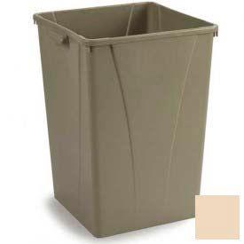 Centurian™ Waste Container 35 Gallon - Beige - Pkg Qty 4