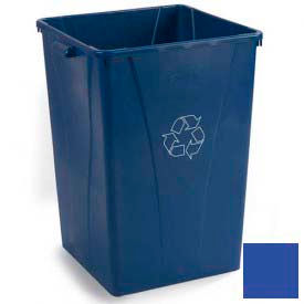 Centurian™ Recycling Container 35 Gallon - Blue - Pkg Qty 4