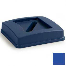 Centurian™ Paper Recycle Lid For 343935rec, 343950rec - Blue - Pkg Qty 8