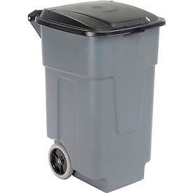 Carlisle® Roll-Away™ Container 50 Gallon 34505023, Gray