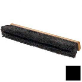 """Flo-Pac® Horsehair/Polypropylene Sweep With Wire Center 36"""" - Black - Pkg Qty 6"""
