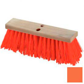 "Flo-Pac® Heavy Polypropylene Street Sweep 24"" - Orange - Pkg Qty 6"