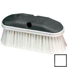 "Vehicle Wash Brush With Polystyrene Bristles 9"" - White - 36120902 - Pkg Qty 12"