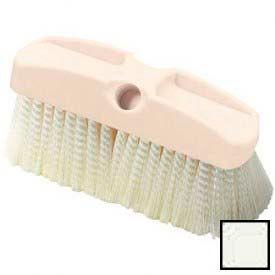 "Vehicle Wash Brush With Crimped Polypropylene Bristles 8"" - Off White - 36122800 - Pkg Qty 12"