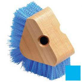 Triangle Scrubber With W/Polypropylene Bristles - Carlisle Blue - Pkg Qty 12