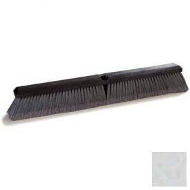 "Flo-Pac® Fine Floor Sweep W/Polypropylene 24"" - Grey - Pkg Qty 12"
