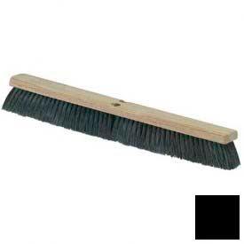 "Flo-Pac® Tampico Floor Sweep 24"" - Black - Pkg Qty 12"
