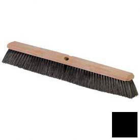 "Flo-Pac ® Polypropylene Sweep 18"" - Black - Pkg Qty 12"