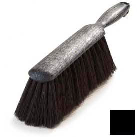 "Counter Brush With Tampico Bristles 8"" - Black - Pkg Qty 12"