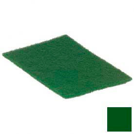 "Coarse Green Scour Pad 9"" x 6"" - Forest Green - 3639608 - Pkg Qty 12"
