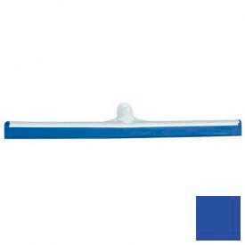 """Spectrum® Color-Coded One-Piece Rubber Floor Squeegee 24"""" - Blue - 3656814 - Pkg Qty 6"""