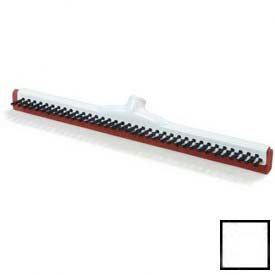 """Red Double Rubber Squeegee W/Bristles 18"""" - White - 36781800 - Pkg Qty 10"""