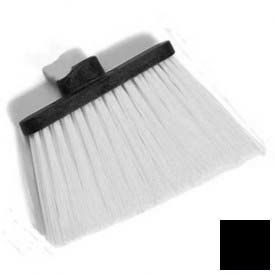 """Duo-Sweep® Heavy Duty Angle Broom W/12"""" Flare (Head Only) 8"""" - Black - Pkg Qty 12"""