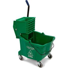 Bucket/Wringer With Side Press Wringer 26-35 qt - Green
