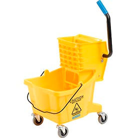 Carlisle® Mop Bucket & Wringer Combo 3690804, 26 Qt - Yellow