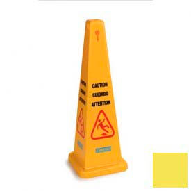 """Caution Cones And Barriers Caution Cone 36"""" - Yellow - Pkg Qty 3"""